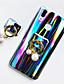 hesapli Cep Telefonu Kılıfları-Pouzdro Uyumluluk Huawei Huawei P20 / Huawei P20 Pro / Huawei P20 lite Yüzüklü Tutacak / Işıltılı Parlak Arka Kapak Işıltılı Parlak / Renkli Gradyan Yumuşak TPU / P10
