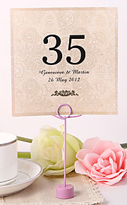 Flower Material Pearl Paper Placecard Holders Table Number Cards Others Wedding Poly Bag