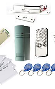 Enkelt dør Controller Kits med IR Tastatur Electric Bolt, 10 EM-ID-kort, Power Supply)