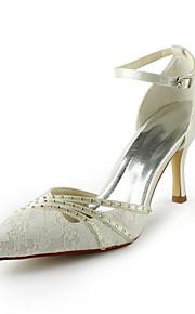 073d3042 Elfenbenshvit / Hvit - Bryllup sko - Dame - Hæler - høye hæler - Bryllup