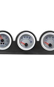 Triple Three Auto Gauge Meter Pod Holder Cup Mount 2 52mm