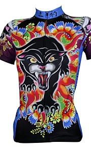 ILPALADINO Homme / Femme Manches Courtes Maillot de Cyclisme Bande dessinée Vélo Maillot, Séchage rapide, Résistant aux ultraviolets,