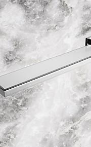 욕실 선반 콘템포라리 스테인레스 / 유리 1개 - 호텔 목욕