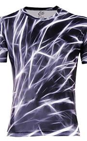Ανδρικά Καθημερινό Βαμβάκι Με Τύπωμα Κοντομάνικο T-shirt