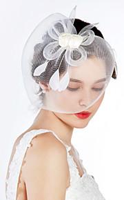 Tulle Cristal Tissu Diadèmes Fascinators 1 Mariage Occasion spéciale Fête / Soirée Casque