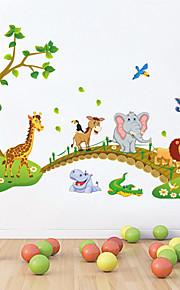 Tiere Stillleben Cartoon Design Wand-Sticker Flugzeug-Wand Sticker Dekorative Wand Sticker, Vinyl Haus Dekoration Wandtattoo Wand