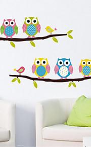 Tiere Stillleben Mode Freizeit Wand-Sticker Flugzeug-Wand Sticker Dekorative Wand Sticker, PVC Haus Dekoration Wandtattoo Wand