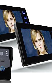 Ennio 7 videocitofono citofono campanello monitor interno 1000tvl esterna di sicurezza CCTV Camera 2pcs