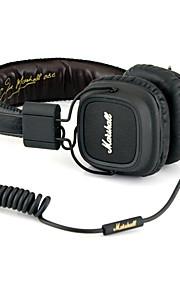 Beevo BV-HM740 Op het oor Hoofdband Bekabeld Hoofdtelefoons Dynamisch Muovi Mobiele telefoon koptelefoon HIFI Met volumeregeling met