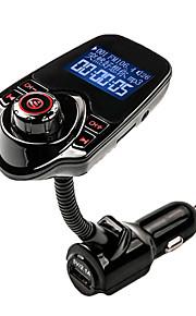 agetunr FM vysílač bluetooth handsfree sada do auta hudební přehrávač MP3 rádio adaptér s dálkovým ovládáním pro iPhone / samsung lg