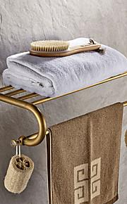 욕실 선반 앤티크 놋쇠 1개 - 호텔 목욕 더블
