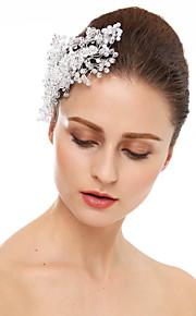 Kristal Strass Hiusten kaltaiset 1 Bruiloft Speciale gelegenheden  Helm
