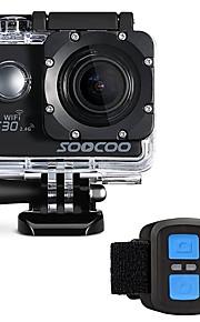 """C30R Action Kamera / Sportskamera Wifi 4K 240fps 24 fps 30fps 120fps 60fps 2"""" 128 GB 30 M Dykning Surfing Universel AUTO Wakeboard Cykel"""