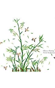Dyr Botanisk Tegneserie Vægklistermærker Fly vægklistermærker Dekorative Mur Klistermærker, Vinyl Hjem Dekoration Vægoverføringsbillede