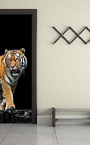 Dyr Vægklistermærker 3D mur klistermærker Dekorative Mur Klistermærker, Vinyl Hjem Dekoration Vægoverføringsbillede Væg