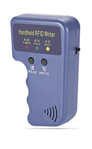 håndholdt 125khz rfid adgang id-kort replikator replikator med 5 nøgleringe med 1 id-kort