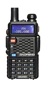 BAOFENG Walkie-talkie Håndholdt Advarsel Om Lavt Batteri Nødalarm Programmerbar med PC software Strømsparefunktion Stemmekommando VOX