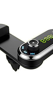 f1 bluetooth auto fm zender handsfree auto kit air vent telefoon houder mp3 speler met aux audio ontvanger voor iphone