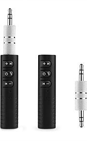 ziqiao universele 3,5 mm jack bluetooth carkit handsfree muziek audio ontvanger adapter auto aux kit