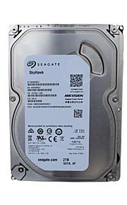 Seagate® Hard Diske ST2000VX003 2TB Desktop Internal Hard 5900 RPM SATA 64MB Cache 3.5-inch HDD for Sikkerhed Systemer 18*13cm 0.55kg