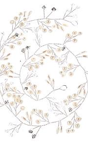 Napodobenina perel   Měděný drát Čelenky   Řetěz hlavy   Nástroj na vlasy s  Umělé perly 3f02071307