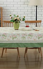 European Style Puuvilla Neliö Table Cloths Pöytäkoristeet