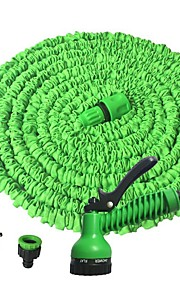 manguera de agua de jardín con boquilla de pulverización que expande lavado de coche de pistola de agua flexible con boquilla