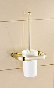 Toalett Børster & Holdere Moderne / Nutidig Messing 1 stk - Hotell bad