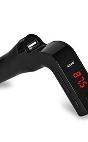 4-in-1 G7 USB Mp3 Car Wireless Fm Transmitter Handsfree Bluetooth Mini Transmitter Fm Car Kit Mp3 Player LCD Car Accessories