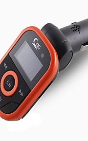 af dhl eller ems 50stk bil mp3-afspiller 1,2 lcd display support usb tf kort med infrarød fjernbetjening fm modulator radio mp3 hot sale