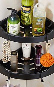 Badeværelseshylde Høj kvalitet Rustfrit Stål + A-klasse ABS 1 stk - Hotel bad