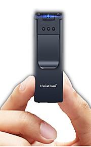 T69 Forretning Mini Bevægelsessensor Infrarød sensor Støjreduktion 180 grader Nattesyn Roterende 1080P Nej 128 GB