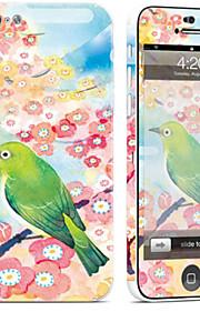 1 pezzo Autoadesivo della Pelle per Anti-graffi Artistica A fantasia PVC iPhone 5c