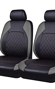 Seat Covers Gray PU Leather Fabric Business for universal Universal