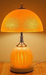 Tradicional/Clásico Decorativa Lámpara de Mesa Para Vidrio Blanco Rosa Amarillo
