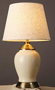Artístico Decorativa Lámpara de Mesa Para Cerámica Blanco