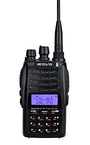 RT23 Walkie-talkie Håndholdt Dual-band 5-10 km 5-10 km 128 1600mAh 5W Walkie talkie Tovejs radio