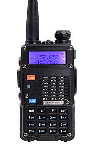 BAOFENG Walkie-talkie Håndholdt Dual-band 5-10 km 5-10 km Walkie talkie Tovejs radio