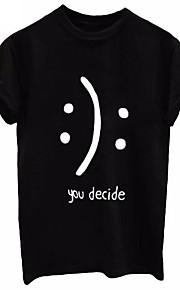 Hombre Camiseta, Escote Redondo Letra Gris XXL / Manga Corta