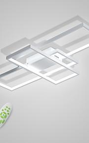 CONTRACTED LED® 3 등 리니어 플레시 마운트 라이트 엠비언트 라이트 Painted Finishes 금속 기하학적 패턴 110-120V / 220-240V 웜 화이트 / 콜드 화이트 / 원격 제어로 조광 가능