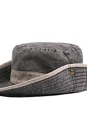 男性用 ベーシック ソリッド 日よけ帽