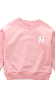 5fbb6771ecf 34 Μωρό Κοριτσίστικα Βασικό Μονόχρωμο Μακρυμάνικο Ακρυλικό / Πολυεστέρας  Μπλούζα με Κουκούλα & Φούτερ Ανθισμένο Ροζ /