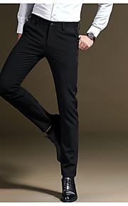 男性用 スーツ パンツ - ソリッド ブルー
