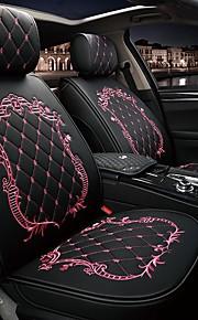ODEER 차량용 의자 쿠션 좌석 쿠션 블랙 / 핑크 / 블랙 골드 / 블랙 / 화이트 PU 가죽 보통 제품 유니버셜 모든 년도 전체 모델