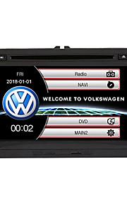 520WGNR04 7 inch 2 Din Windows CE In-Dash DVD přehrávač GPS / Dotykový displej / Zabudovaný Bluetooth pro Volkswagen Podpěra, podpora / RDS / Kontrola volantu / Výstup na subwoofer / Hry