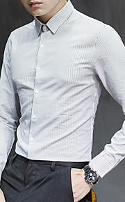 メンズシャツ - 無地のシャツの襟