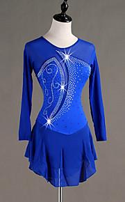 Šaty na bruslení Dámské   Dívčí Buz Pateni Šaty Námořnická modř Spandex  Bruslařské oblečení Rychleschnoucí 615613f0b29