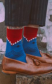 Μεσαίες κάλτσες όλων των ανδρών / βαμβακιού 480d