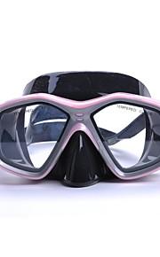 YON SUB Potápěčské masky Pod vodou Proti zamlžování Voděodolné Dva-Window - Plavání Potápění Vodní sporty Silikon - pro Děti Růžová