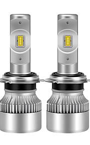 2pcs GU4(MR11) / H7 / H3 Auto Žárovky 38 W 4600 lm LED Čelovka Pro Evrensel / Volkswagen / Toyota General Motors Všechny roky